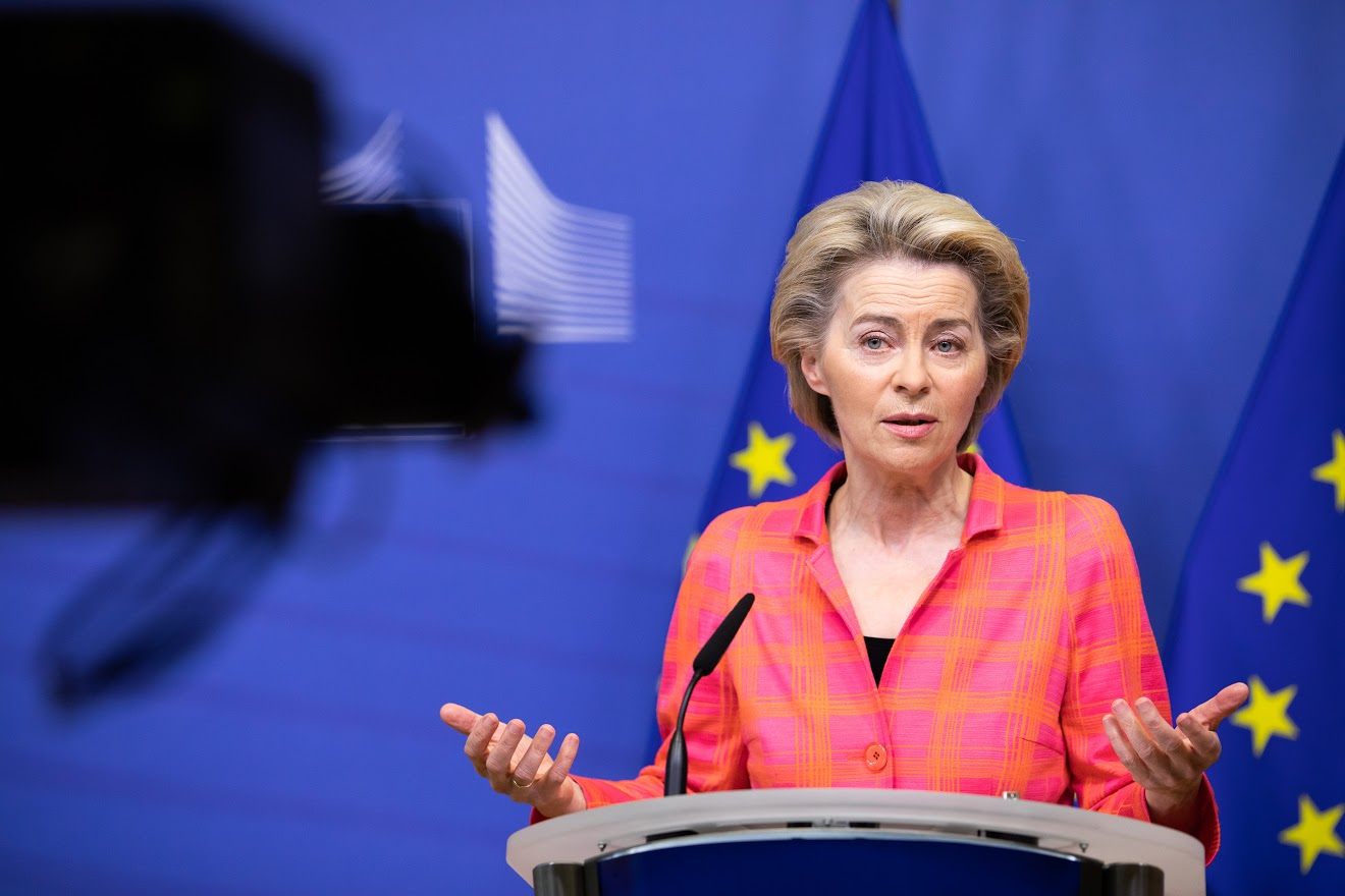 Ursula von der Leyen: Photocredit - European Union, 2020 Source: EC - Audiovisual Service